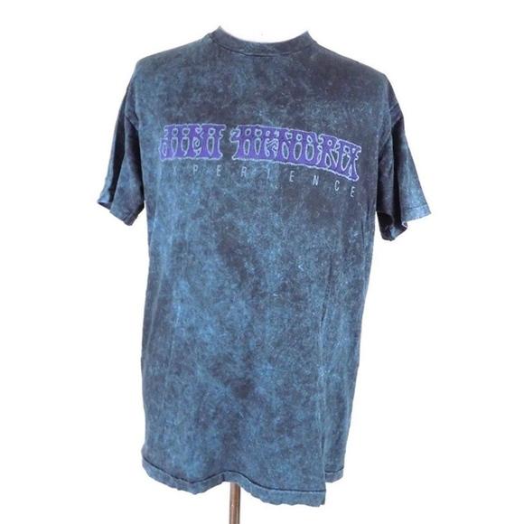 Hanes Shirts Vintage 90s 1991 Jimi Hendrix Experience Tshirt